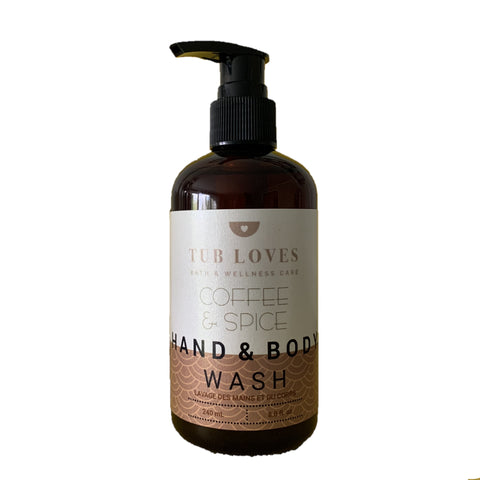 COFFEE & SPICE - HAND AND BODY WASH