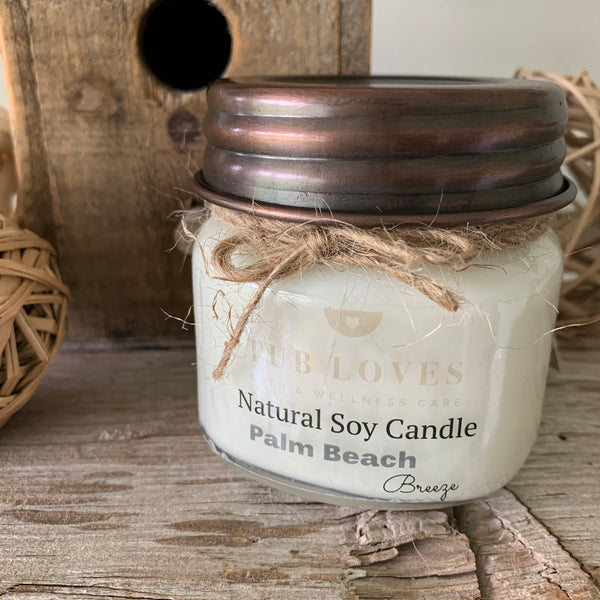PALM BEACH BREEZE - NATURAL SOY CANDLE