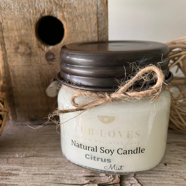 CITRUS MIST - NATURAL SOY CANDLE