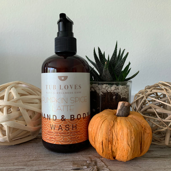 PUMPKIN SPICE LATTE - HAND AND BODY WASH
