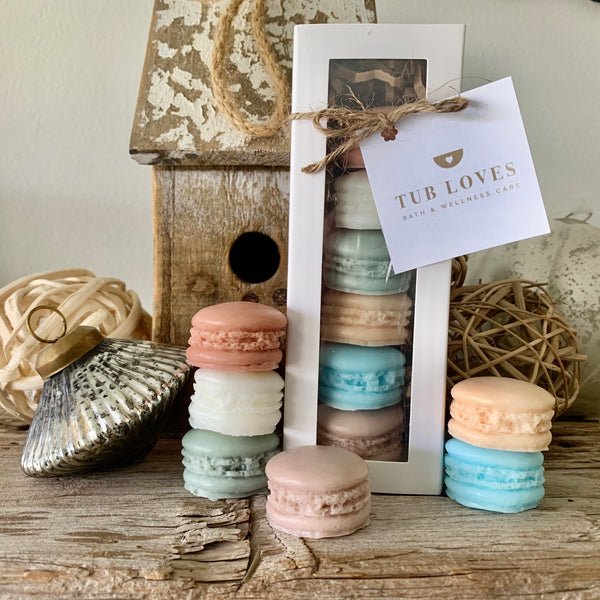MACARON TRIPLE BUTTER GOATS MILK SOAP - HOLIDAY GIFT SET