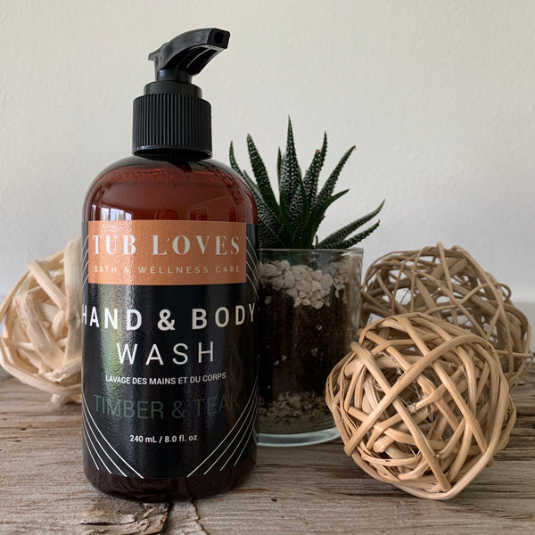 TIMBER & TEAK - HAND AND BODY WASH