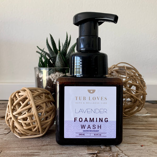 LAVENDER FOAMING WASH