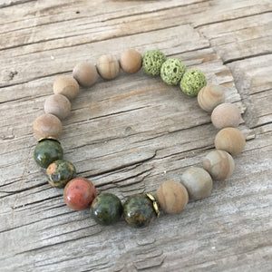 I AM WHOLE - AROMATHERAPY MALA BRACELET