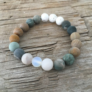 I AM CONNECTED - AROMATHERAPY MALA BRACELET