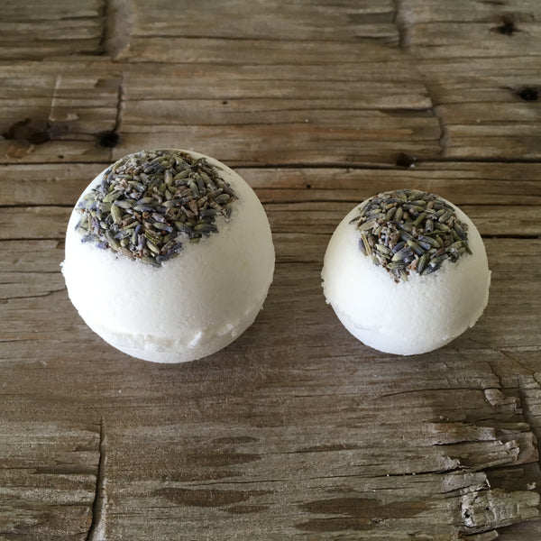 QUIET TIME (LAVENDER) BATH BOMB