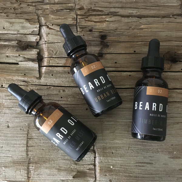 BEARD OIL - TIMBER & TEAK
