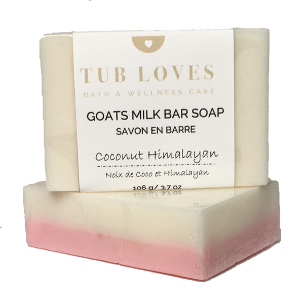 COCONUT & HIMALAYAN - GOATS MILK BAR SOAP
