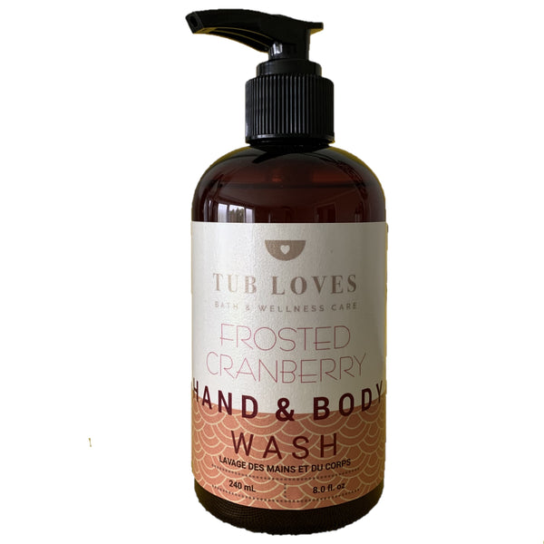 FROSTED CRANBERRY - HAND AND BODY WASH