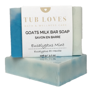 EUCALYPTUS MINT - GOATS MILK BAR SOAP