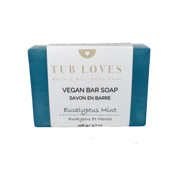 EUCALYPTUS MINT - VEGAN BAR SOAP