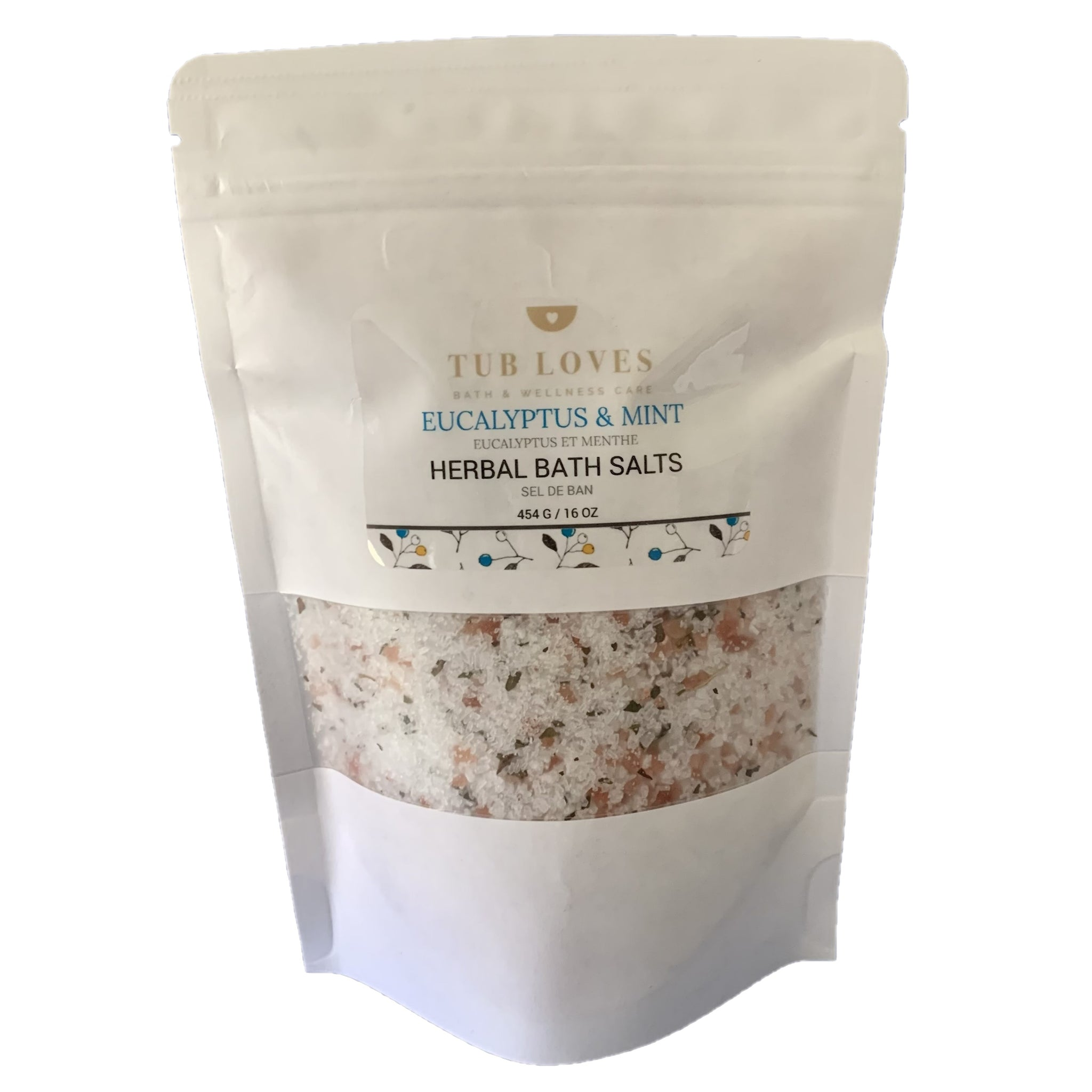 EUCALYPTUS & MINT - HERBAL BATH SALTS