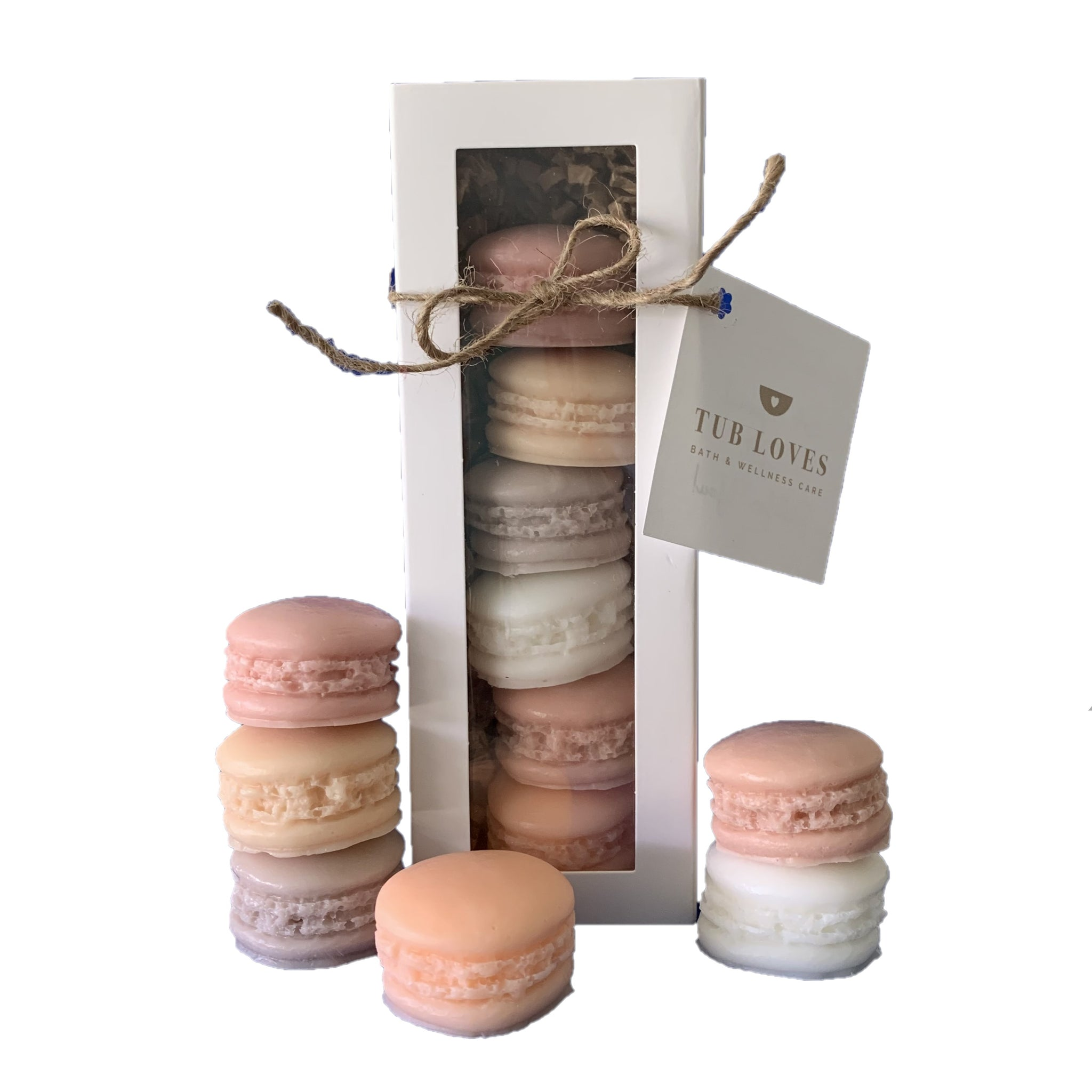 MACARON TRIPLE BUTTER GOATS MILK SOAP - FALL HARVEST GIFT SET