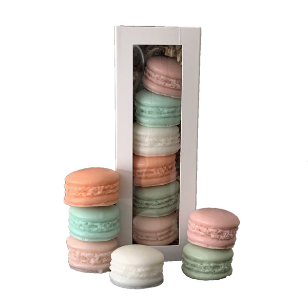 MACARON TRIPLE BUTTER GOATS MILK SOAP - FRUIT PARFAIT GIFT SET