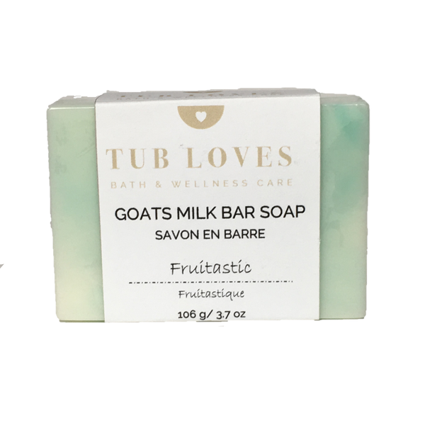 FRUITASTIC - GOATS MILK BAR SOAP