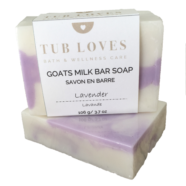 LAVENDER - GOATS MILK BAR SOAP
