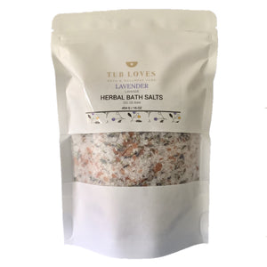 LAVENDER - HERBAL BATH SALTS