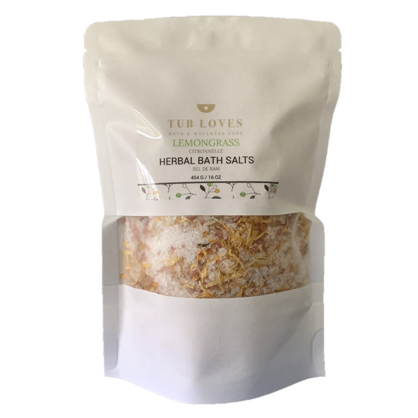 LEMONGRASS - HERBAL BATH SALTS