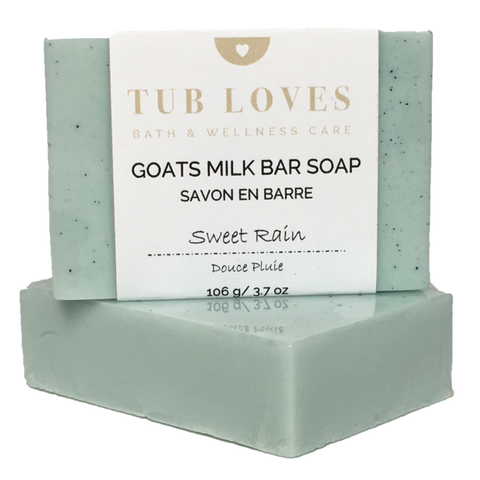 SWEET RAIN - GOATS MILK BAR SOAP