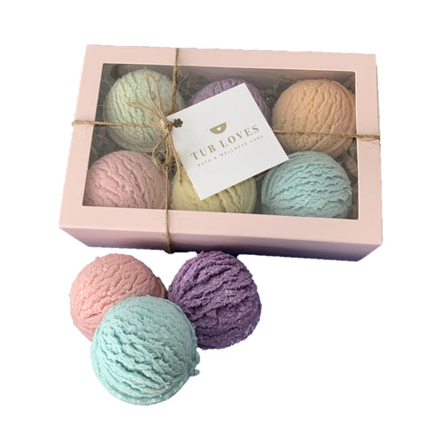 BATH TRUFFLES - SPRING FRESH GIFT SET