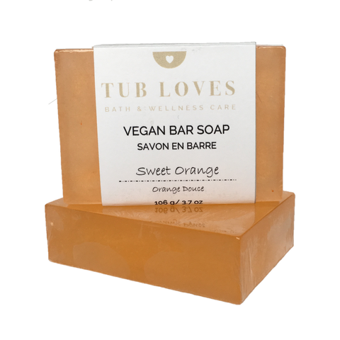 SWEET ORANGE - VEGAN BAR SOAP