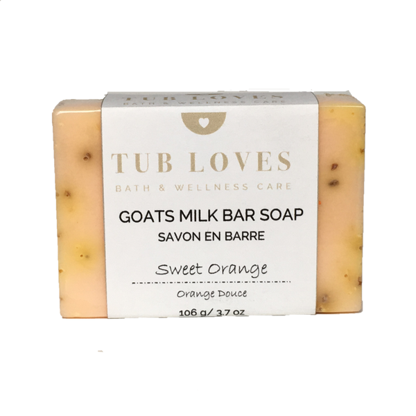 SWEET ORANGE - GOATS MILK BAR SOAP