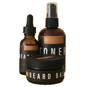 BEARD BUNDLE - TIMBER & TEAK