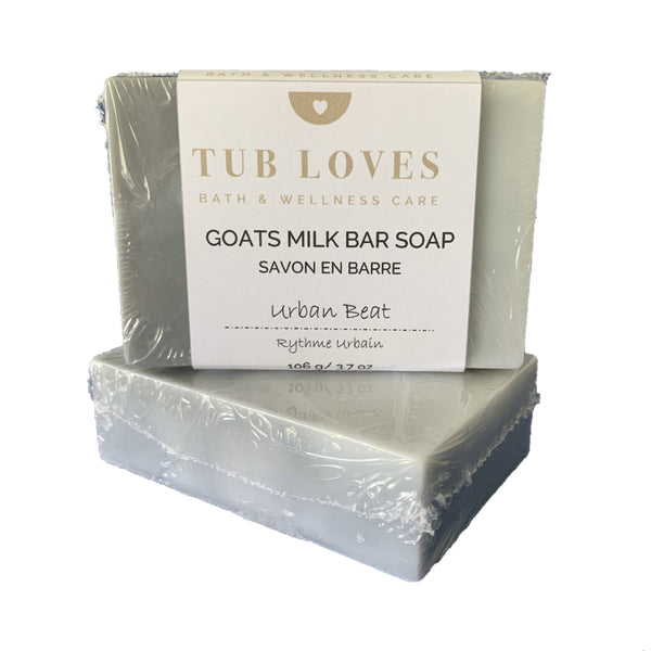 URBAN BEAT - GOATS MILK BAR SOAP
