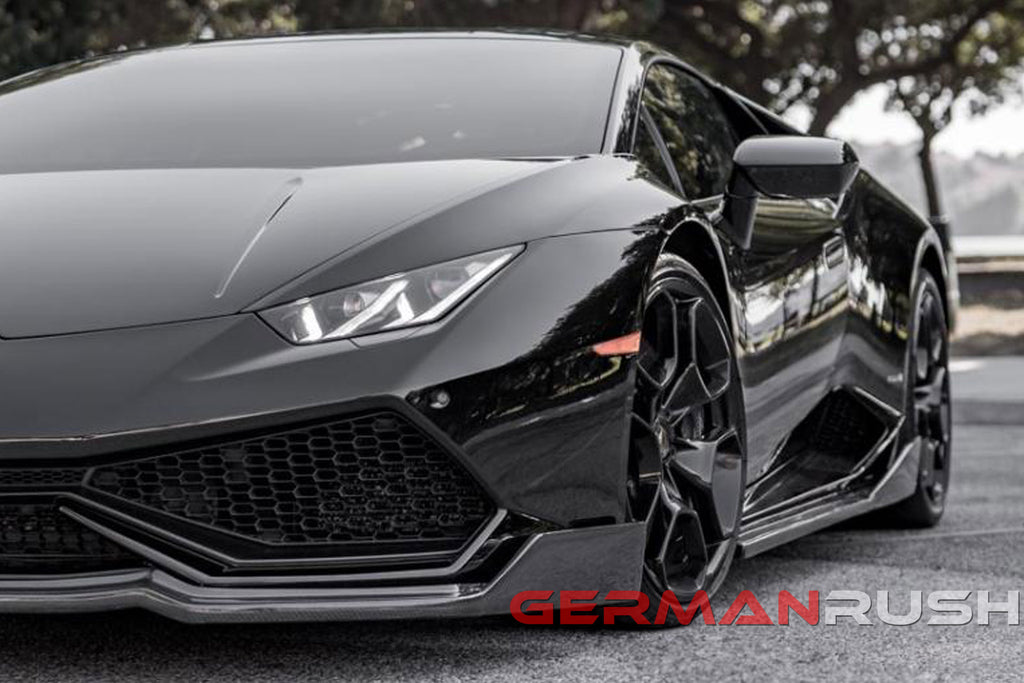 Lamborghini Huracan ALL on Black