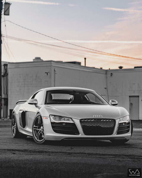 Check out Dave's @werks_am Audi R8 Featuring some of German Rush Products
