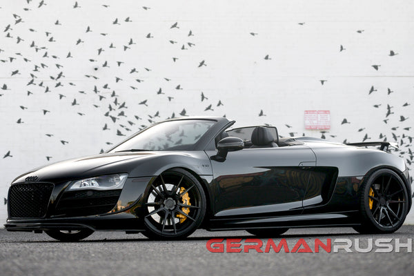 Audi R8 with Carbon Fiber Upgrades from German Rush
