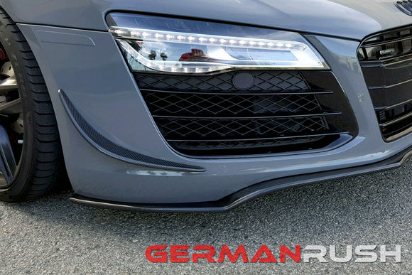 Winglets in Carbon Fiber for Audi R8 2007-2015
