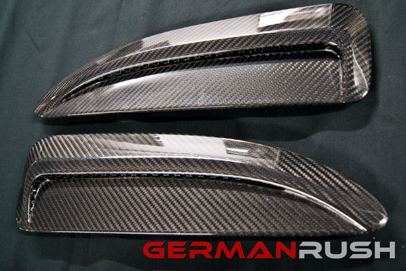 Hood Vents Carbon Fiber Jaguar F-Type 2014-2016 by German Rush
