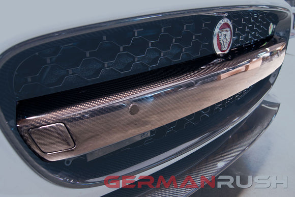 Grill Bar (License Plate Bar) Carbon Fiber Jaguar F-Type 2014-2016