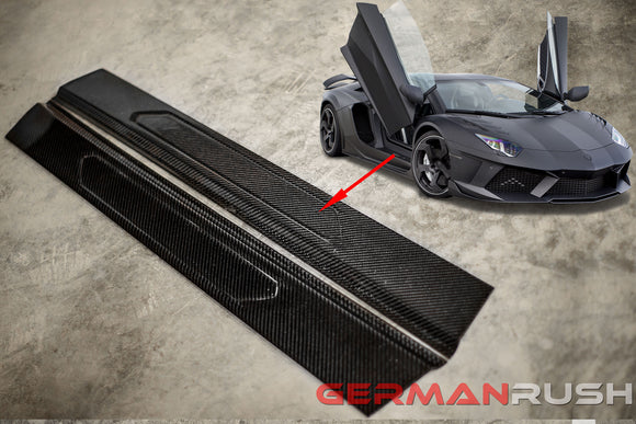 Door Sill for Lamborghini Aventador in Carbon Fiber by GR