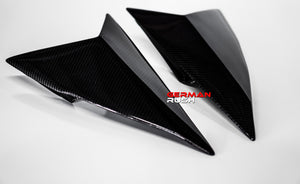 Coupe Side Window Vents Carbon Fiber Lamborghini Huracan 14-19