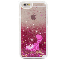 Load image into Gallery viewer, Cartoon Mickey Minnie Pooh Stitch Case for iPhone 6 6s 7 8 Plus X 5S SE XS Max Xr Glitter Dynamic Liquid Quicksand Phone Cases