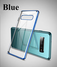 Load image into Gallery viewer, Suntaiho for Samsung Galaxy S10 Case a7 2018 S10 Plus Cover S8 Plus note9 A5 Transparent TPU Soft Cover for Galaxy S7 Edge Case