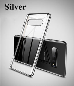 Suntaiho for Samsung Galaxy S10 Case a7 2018 S10 Plus Cover S8 Plus note9 A5 Transparent TPU Soft Cover for Galaxy S7 Edge Case