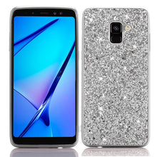 Load image into Gallery viewer, Q UNCLE Bling Glitter Soft Silicon Mobile Phone Case  For Samsung Galaxy J4 J6 A6 A8 S9 Plus J8 A7 A9 2018 J7 Neo J5 J3 A5