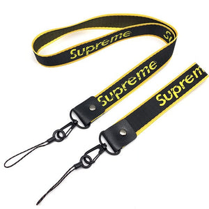 Q UNCLE Lanyard Rope Hanging Rope Tie Strap Key ID Card Gym Straps USB Badge Stand DIY Lanyard Protection Lanyar