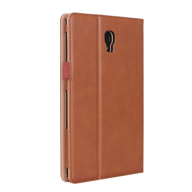 Q UNCLE Tablet Case For Samsung S4T590 T595 Smart Cover Leather Waterproof Anti-Dust Restore Protective Stand Case