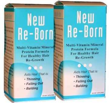 New Re-Born Hair Vitamins Health and Beauty 60 caps Buy 1 Get 1 FREE