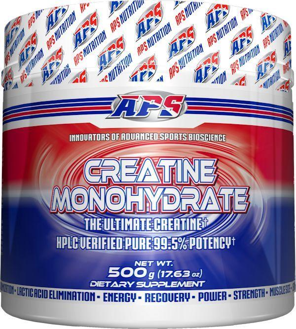 APS Nutrition Creatine APS Nutrition Creatine Monohydrate 500 gms