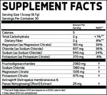Glaxon Astrolyte Hydrating pre-workout facts