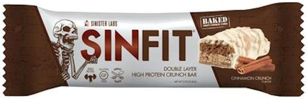 Sinister Labs Sinfit High Protein Bars 12 bar box