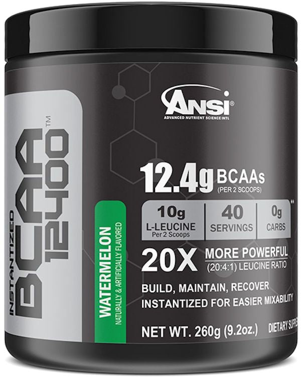 ANSI BCAA 12400 40 servings