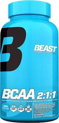 Beast Sports Nutrition BCAA Beast Sports Nutrition BCAA 2:1:1 200 caps. (Discontinue Limited Supply)
