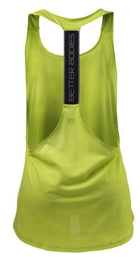 Better Bodies Women's Clothing Better Bodies Women's Athlete Mesh Tank Lime