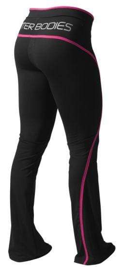 Better Bodies Women's Clothing Large Cherry H Jazz Pant Black/Pink (Code:10off)